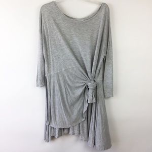 Free People Beach Gray Tunic Cover Up M/L (1976)